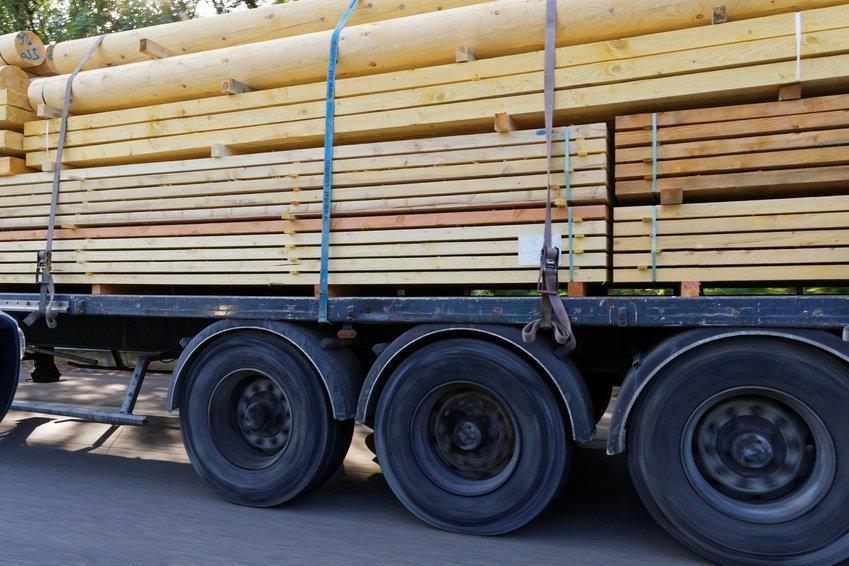 drewno transport
